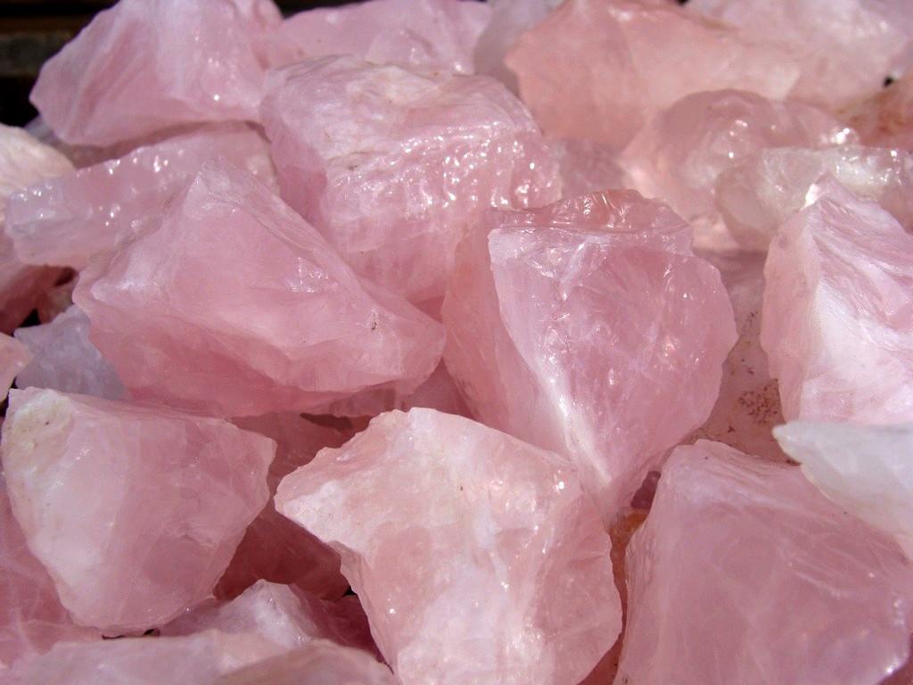 TUMBLER ROCKS Rose Quartz Stones for Tumbling