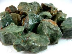 chrysoprase rough gems