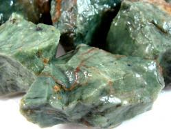 chrysoprase rough stone