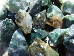 rough moss agate