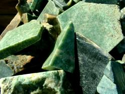 jade rough stone