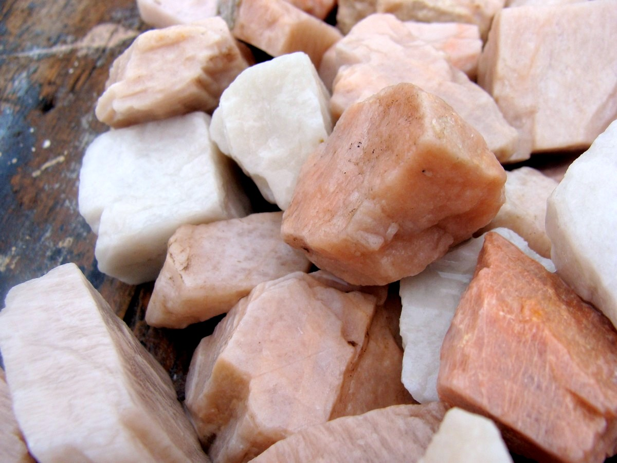 Pink Moonstone Raw Moonstone For Sale Gems By Mail