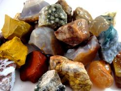 agate jasper mixed rough
