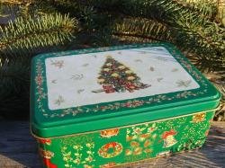 Christmas Tree Tin