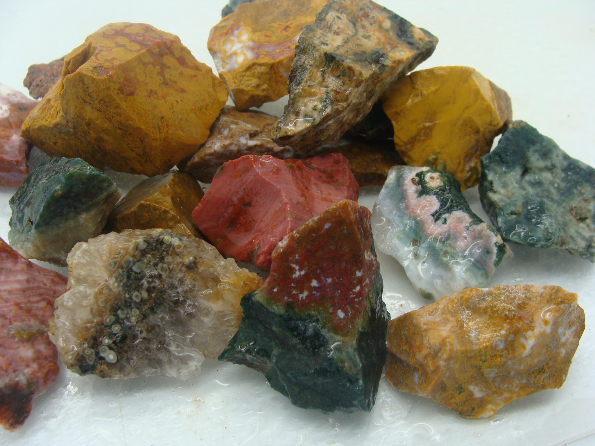Sea Jasper Rock Rough For Tumbling Polishing