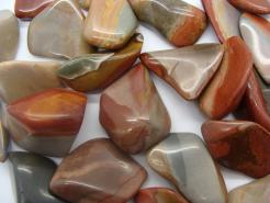 Polished Tumbled Desert Jasper