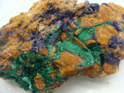 Large Rough Azurite
