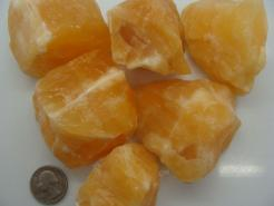 Medium Orange Calcite