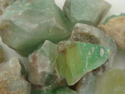 Rough Green Calcite