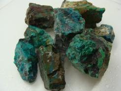 malachite azurite rough