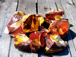 mookaite rough rock