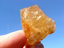 golden imperial topaz rough stone