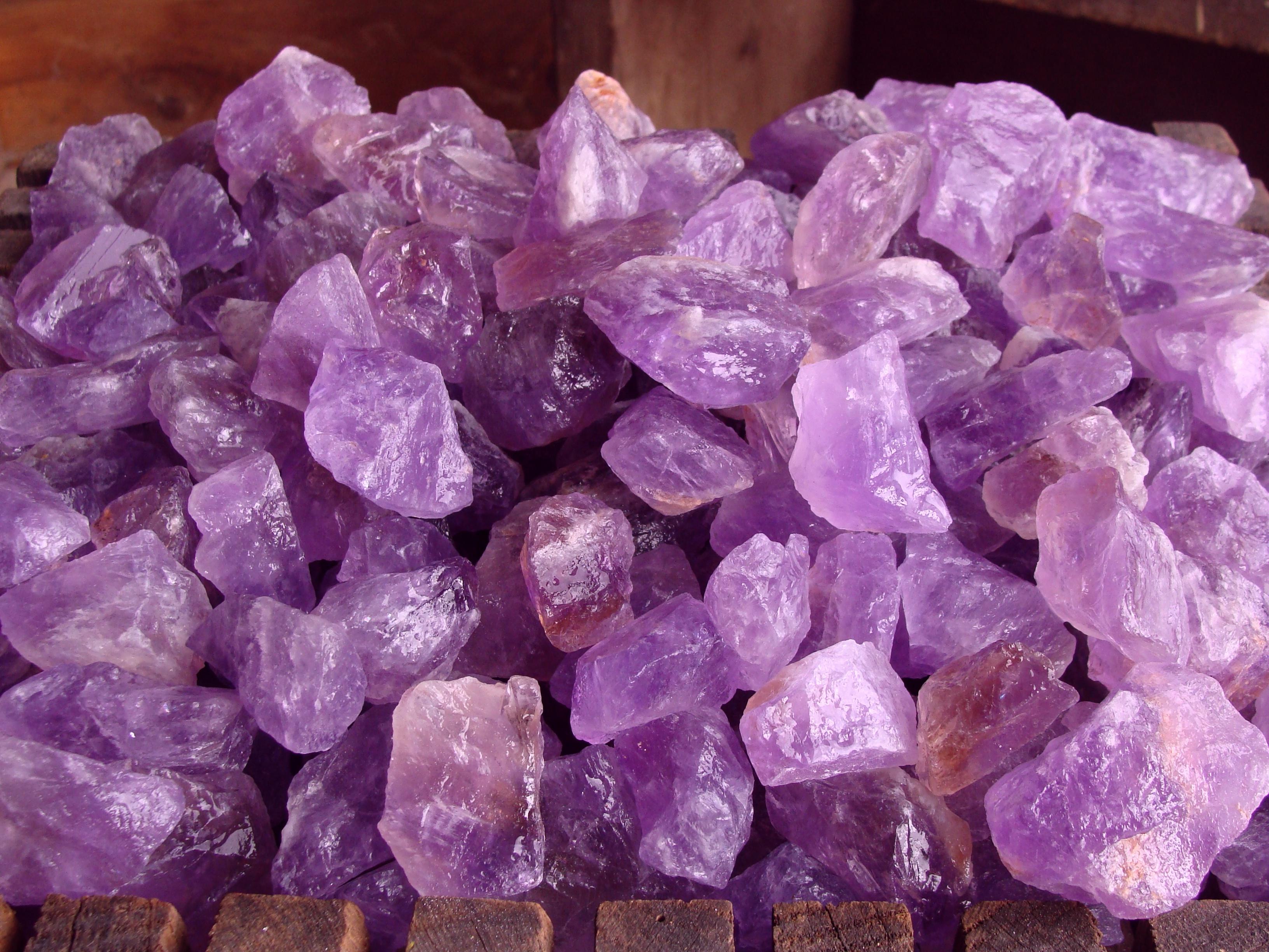 Amethyst Rocks | Tumbling Amethyst | Rough Minerals for Sale