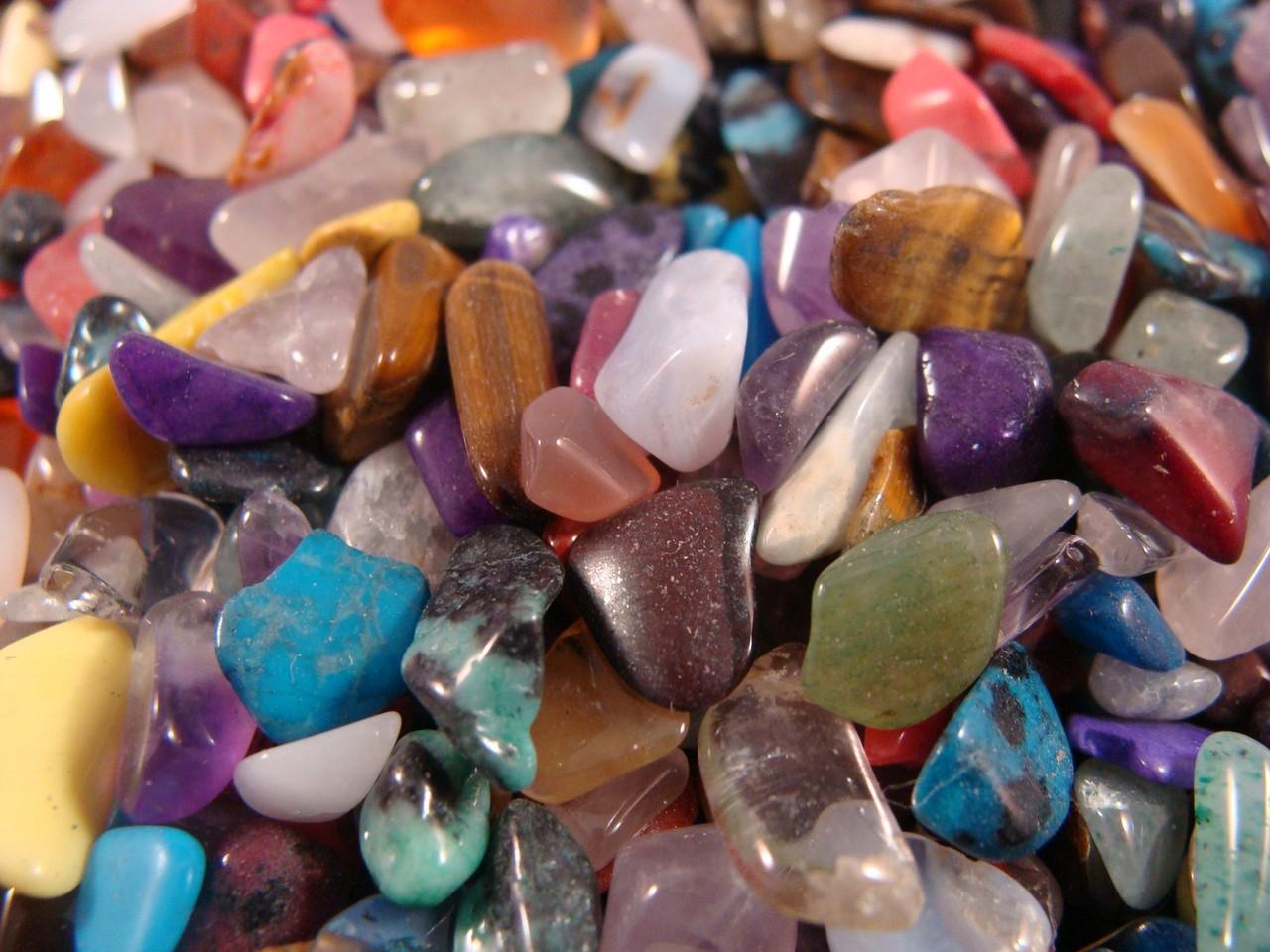 Free shipping 1 pounds Aventurine Tumbled Stones