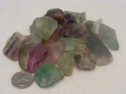 flourite rough rock
