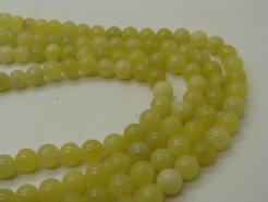 lemon jade gemstone beads