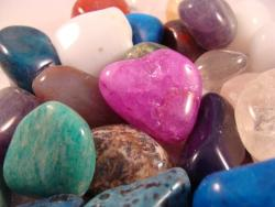 tumbled gemstones