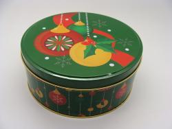 Christmas Ornament Tin