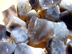 gray agate rocks