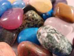 tumbled polished gemstones