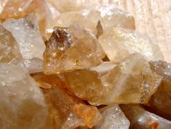 gold topaz rough