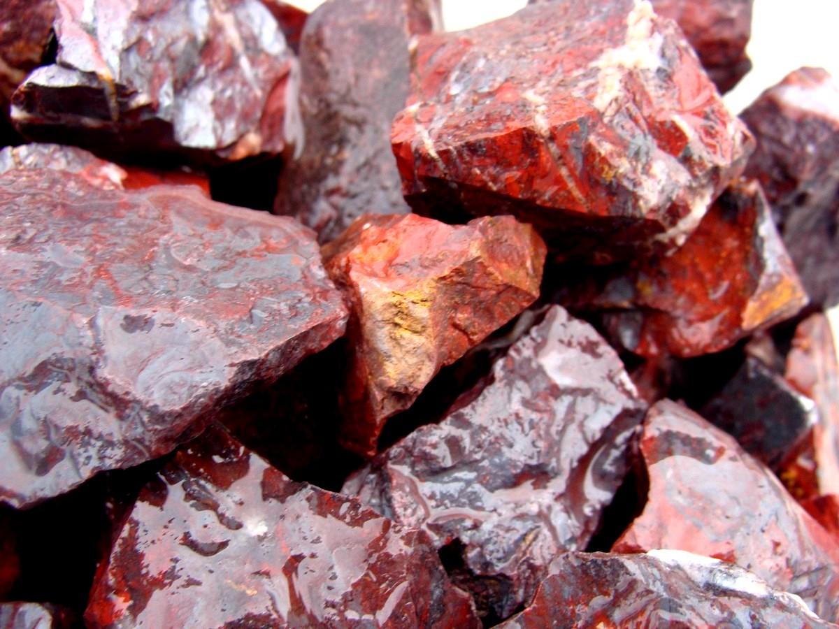 Brecciated Jasper Rock Rough For Tumbling Polishing