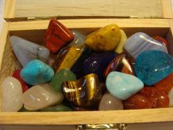 treasure chest gemstones