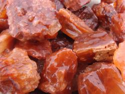 red calcite rough