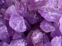 amethyst rough gems