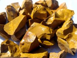 gold jasper rough gems